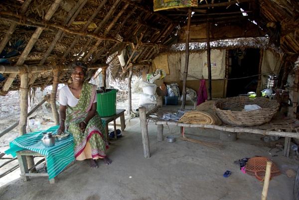 Village Life near Pondicherry, India