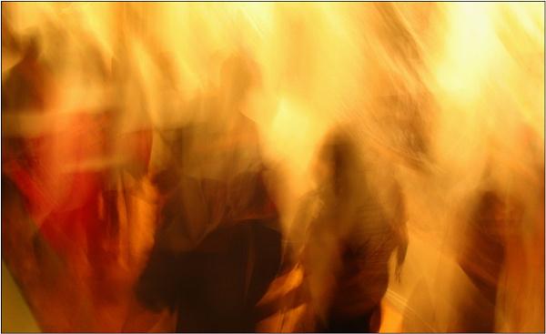 Burning through the Motion by Ajanovic