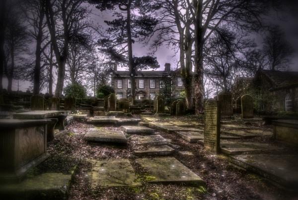 Haworth Graveyard and Parsonage by Hamlin