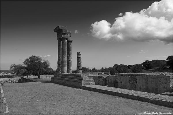 Rhodes Acropolis by GeorgePlatis