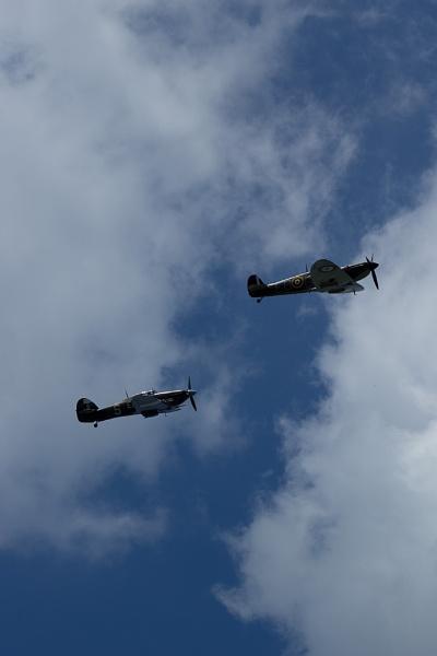 Battle of Britain flyover by Anacithidus