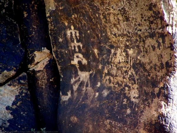 petroglyphs of Navajo county by unk001