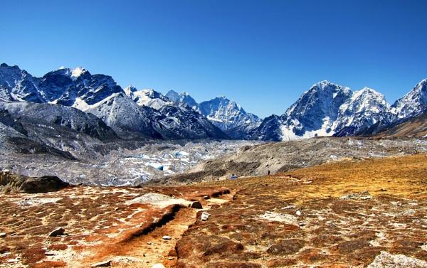 Cloudless Himalayas by HarrisonStormBanks