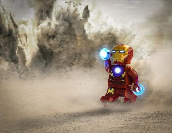 Lego Iron Man by Weeksy