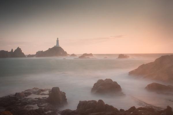 Corbier Lighthouse, Jersey by PWhittle