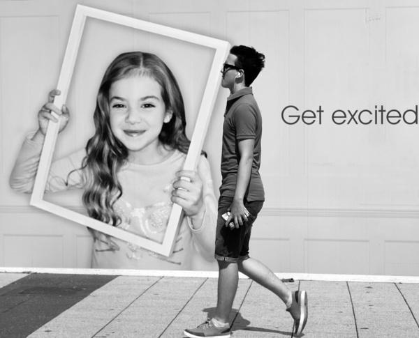 Get excited. by franken