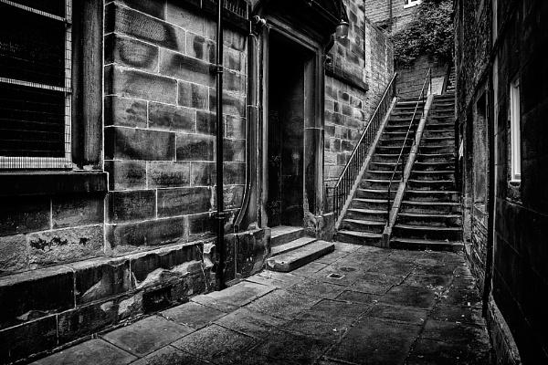 Holmfirth Steps by baker58