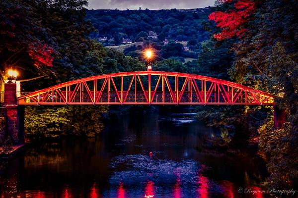 Matlock Bath Bridge by antisilence