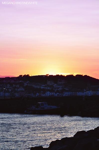 Devon sunset by Meganwhitephotography