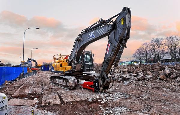 Belgrave Flyover Demolition by pphotographi
