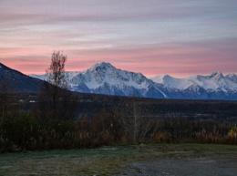 Sunrise in Palmer, AK