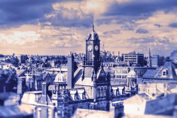 Clock Tower, York by Hamlin
