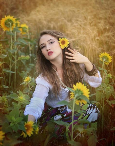 sunflowers by laviniaiordache