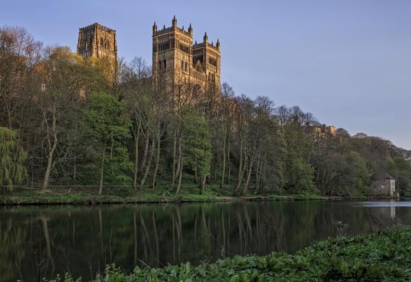Evening Light At Durham by HUFC