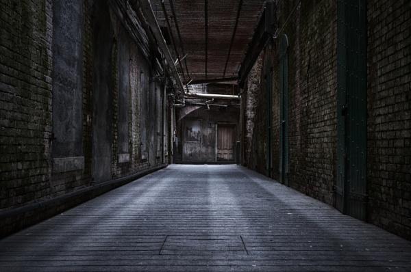 Alcatraz Hallway by eawesley