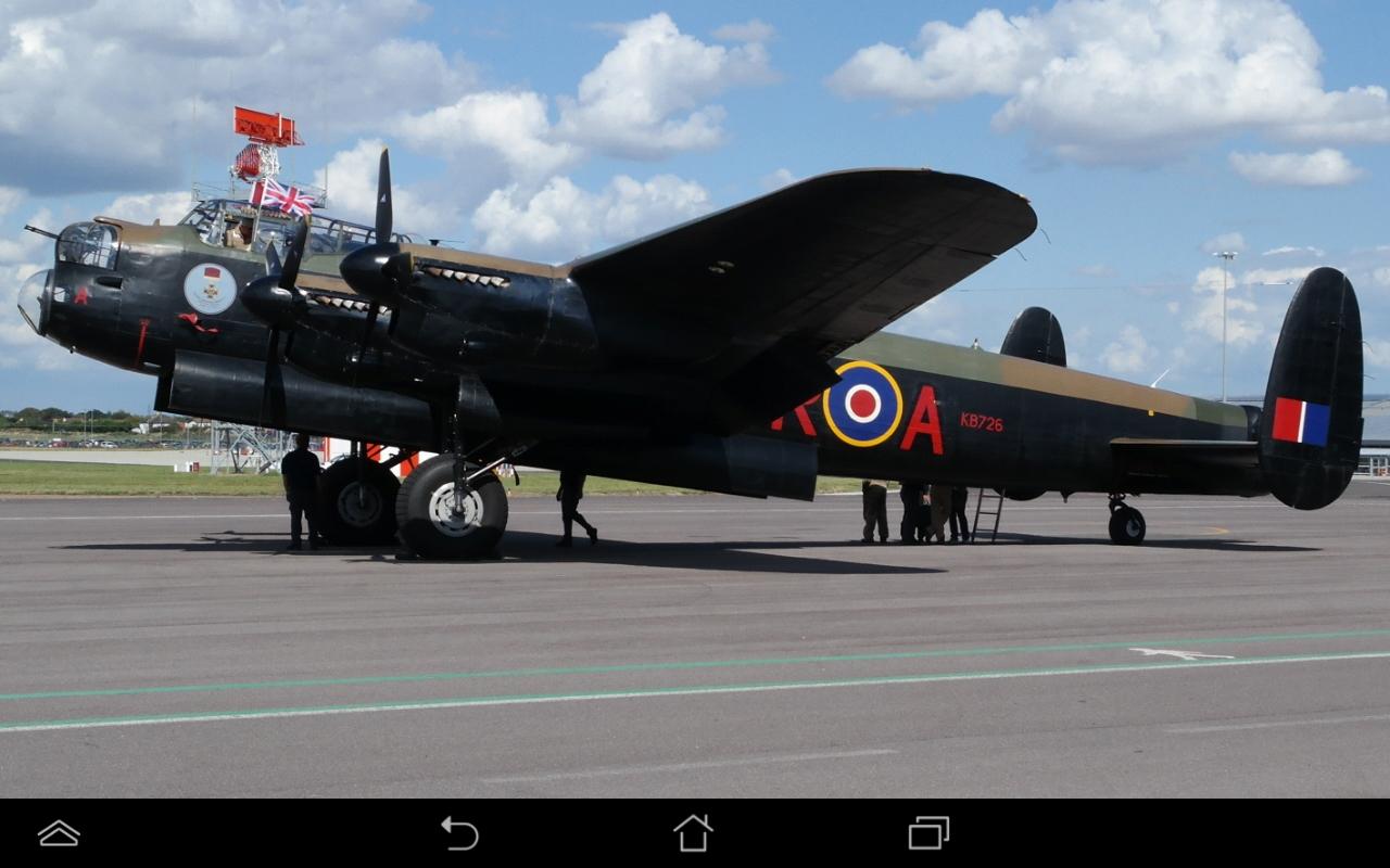 "Lancaster bomber ""Vera"""