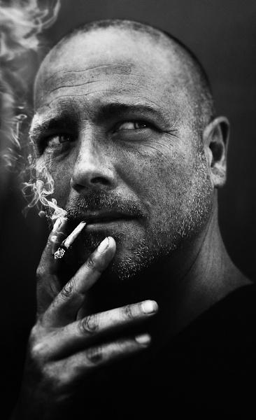 smoker by aleci