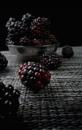 Sweet Black Raspberries by Sona_Northy