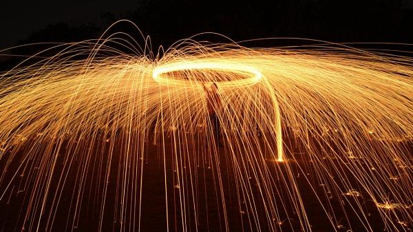 fire twirling by steevo46