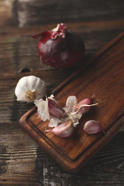 garlic&onion by gaborfoto