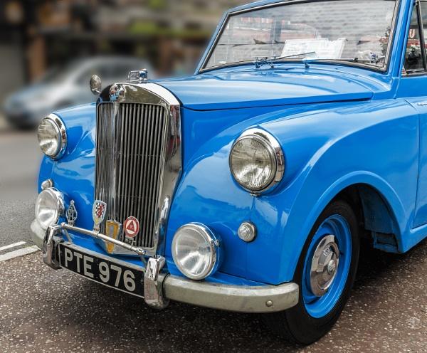 Vintage Triumph Car by Beardedwonder2009
