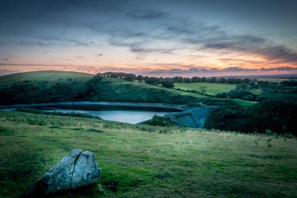 Meldon Reservoir in Devon by ambro