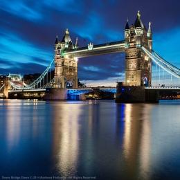 Tower Bridge Dawn