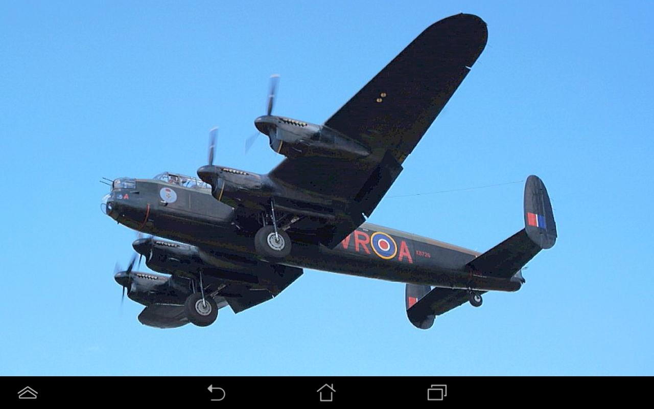 "Canadian Lancaster bomber ""Vera"""