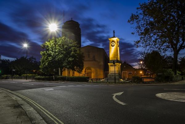 st Bridget\'s church Isleworth by mickthebrick