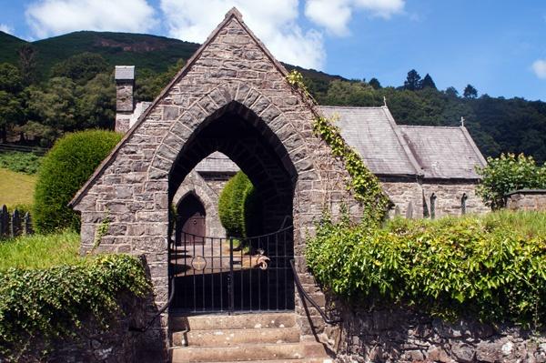 St Tydecho Church, nr Dinas-Mawddwy. Gwynedd by mikejmb
