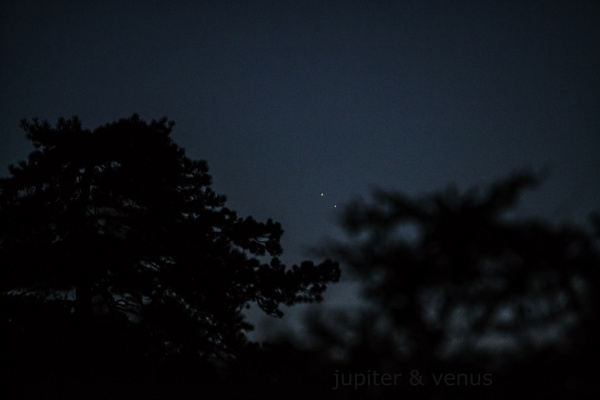 jupiter and venus conjunction by Aenima