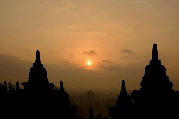 Borobudur by stevewlb