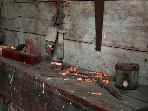 wheelwright\'s workbench by EssexBienen