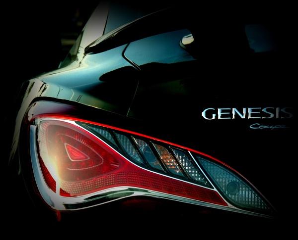Genesis tail light by Aldo Panzieri