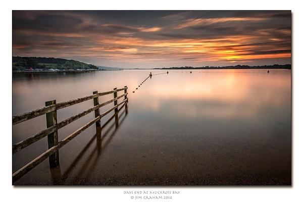 Days end at Muchross Bay by bayliner185