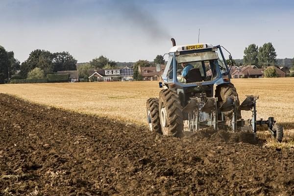 Harvest Over by GordonLack