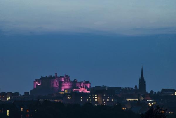 a purple castle by allydon99