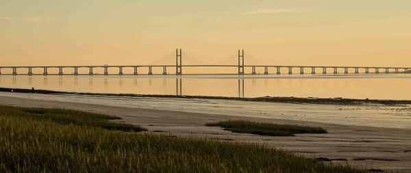 Severn Bridge by Kim Walton