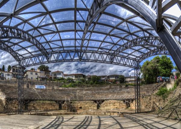 Ancient theatre by darkocv