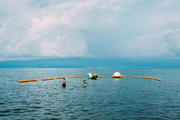 Lake Ohrid, Macedonia by JaHa
