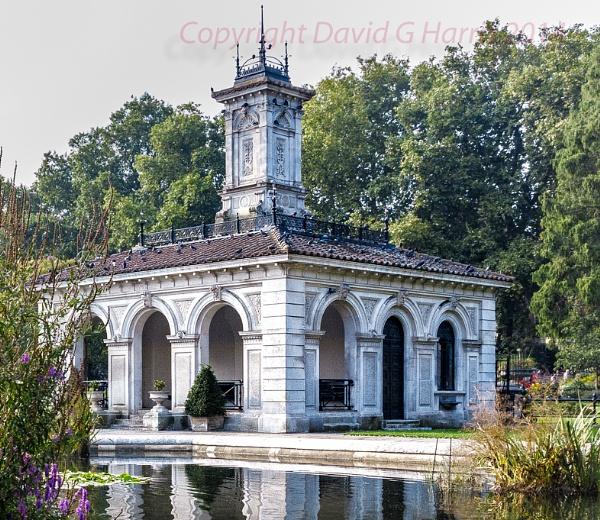 The Italian Garden Kensington Gardens London by Beardedwonder2009