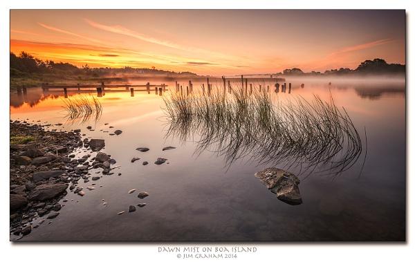 Dawn Mist on Boa Island by bayliner185