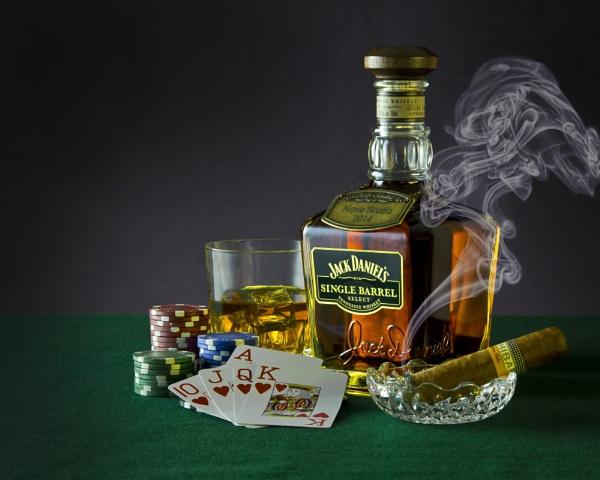 Poker Night by ScotiaFox