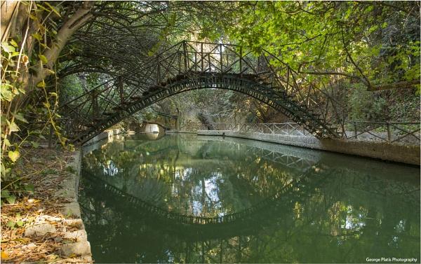 Bridge in the park by GeorgePlatis