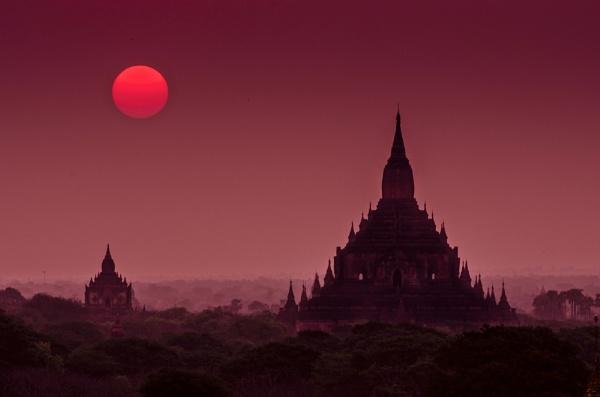 Beautiful Bagan by NathalieM