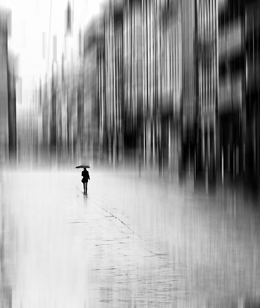 Alone in the rain by Trefla