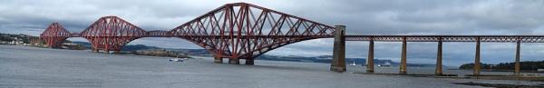 Forth rail bridge by collpicto