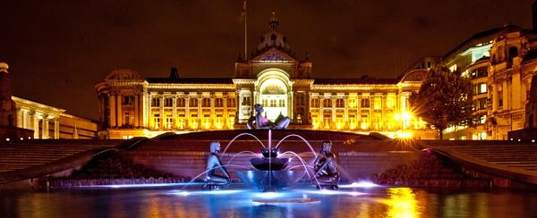Birmingham by night by Robert_Jones