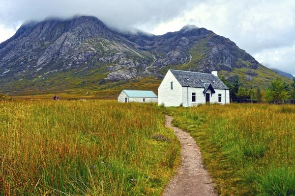 Highland Cottage, Glencoe,Scotland by wulsy