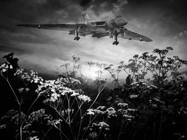 Vulcan Sunset Landing by TrackSide